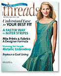 Ongoing Pattern tester for Pattern Review column of Threads Magazine