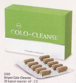 Oriyen Colo Cleanse: Perawatan Usus untuk Kesehatan Pencernaan yang Optimal