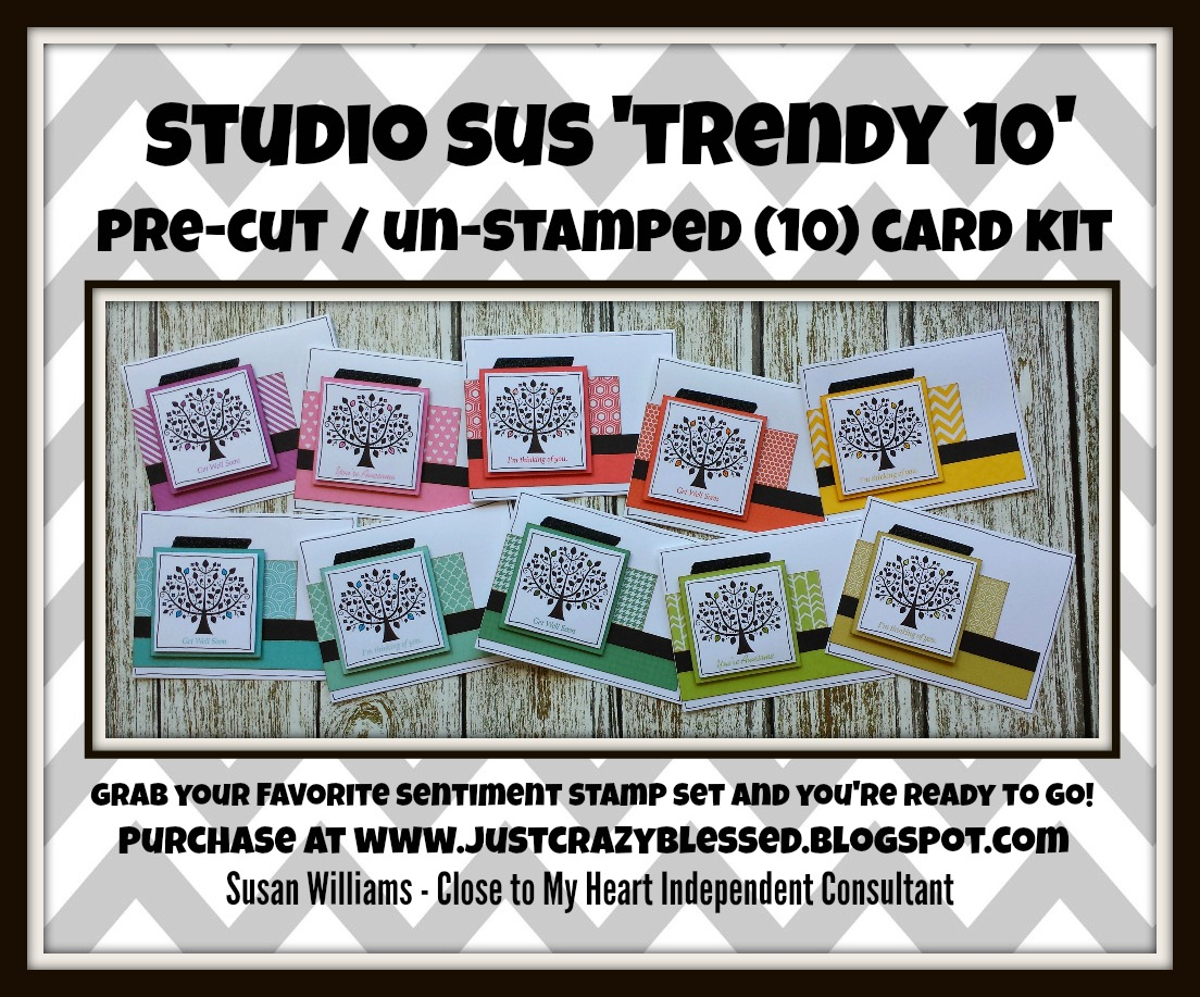 'Trendy 10' Paper Fundamentals Card Kit Workshop!
