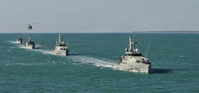 Indonesia - Australia Berpatroli Bersama di Perbatasan Laut Kedua Negara