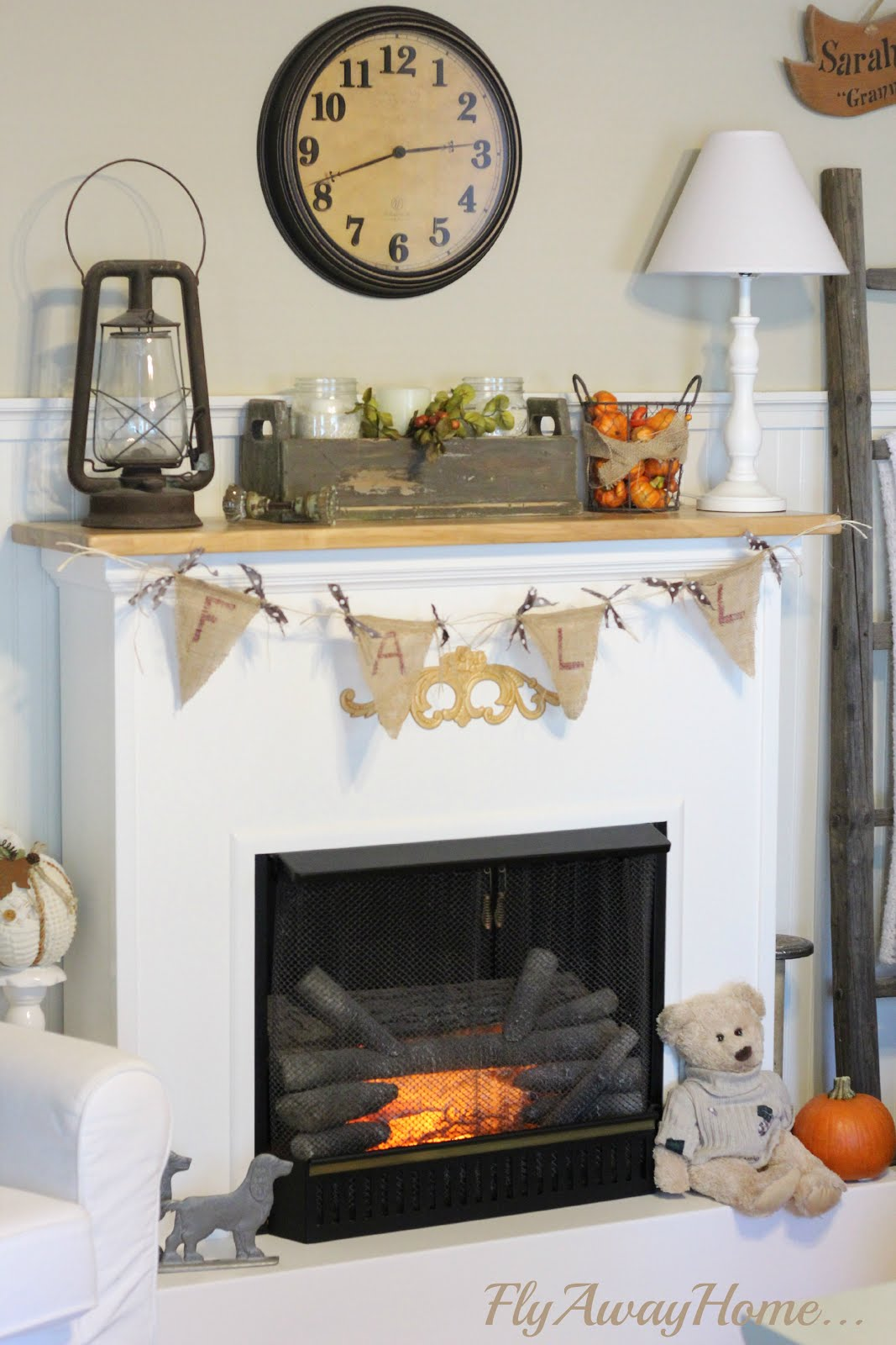 Fall mantel 2014