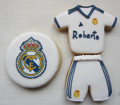 galletas real madrid con escudo papel de azucar impreso
