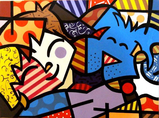 Obra de Romero Britto