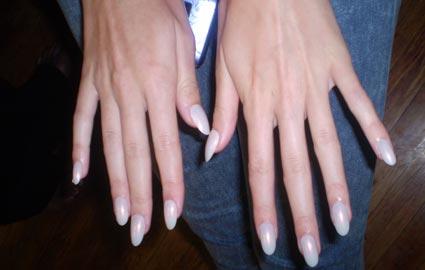 Almond-Shaped Acrylic Nail Designs