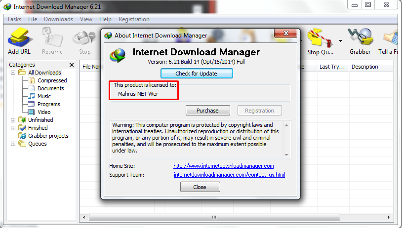 idm free download with serial number 2014