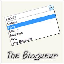 Libellés Blogger