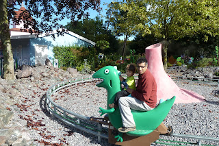 George's Dinosaur ride at Peppa Pig World, Paultons Park