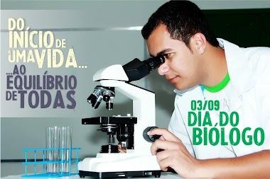 3/9 - Dia do Biólogo