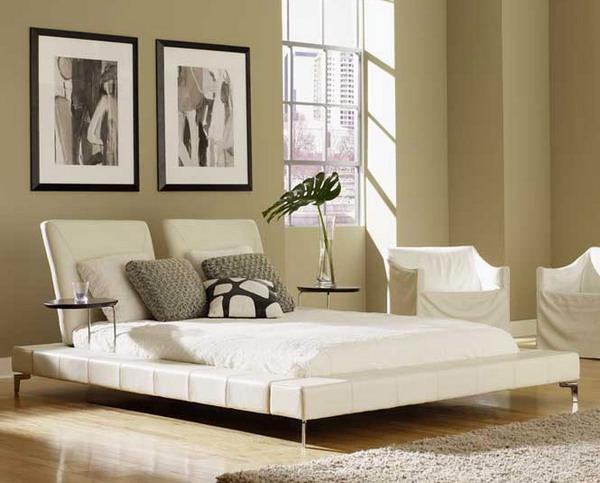 camas en el piso al estilo oriental decoracion de salas