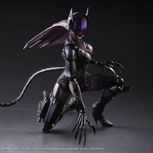 square enix Play Arts Kai Catwoman