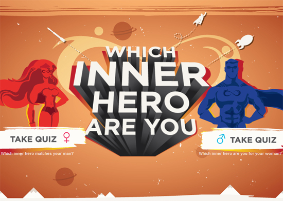 Be Brave Campaign - Which Inner Hero Ara You