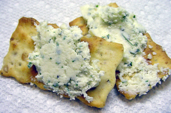 Eating Floyd...: Cooking Floyd: Boursin-style Herbed Cheese Spread