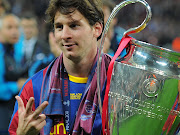 As great a player as Messi has been, his achievements have been almost . lionel messi trophy barcelona champions league