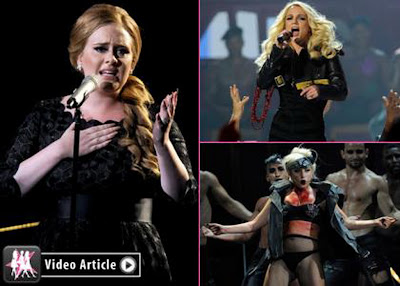 Lady Gaga, Beyonce and Britney Top for MTV Top Song