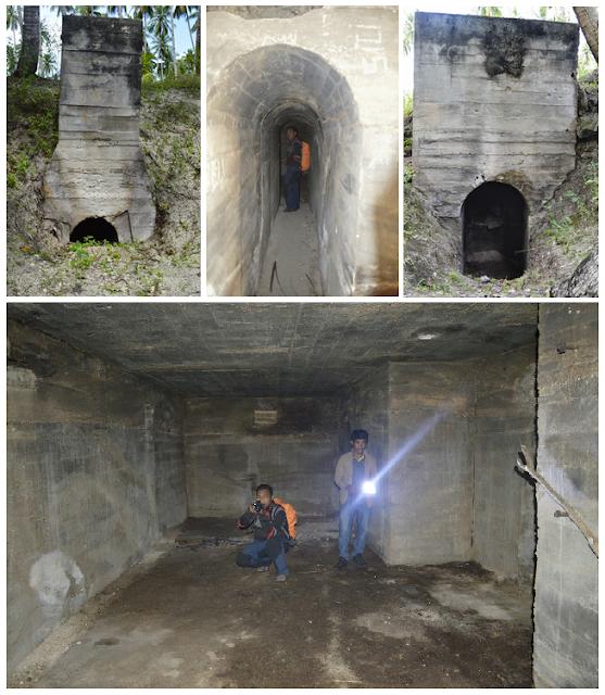 Meriam dan Bunker Jepang - Wisata Sejarah Halmahera Timur