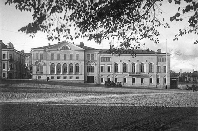 Новая ратуша и выборгский городской театр