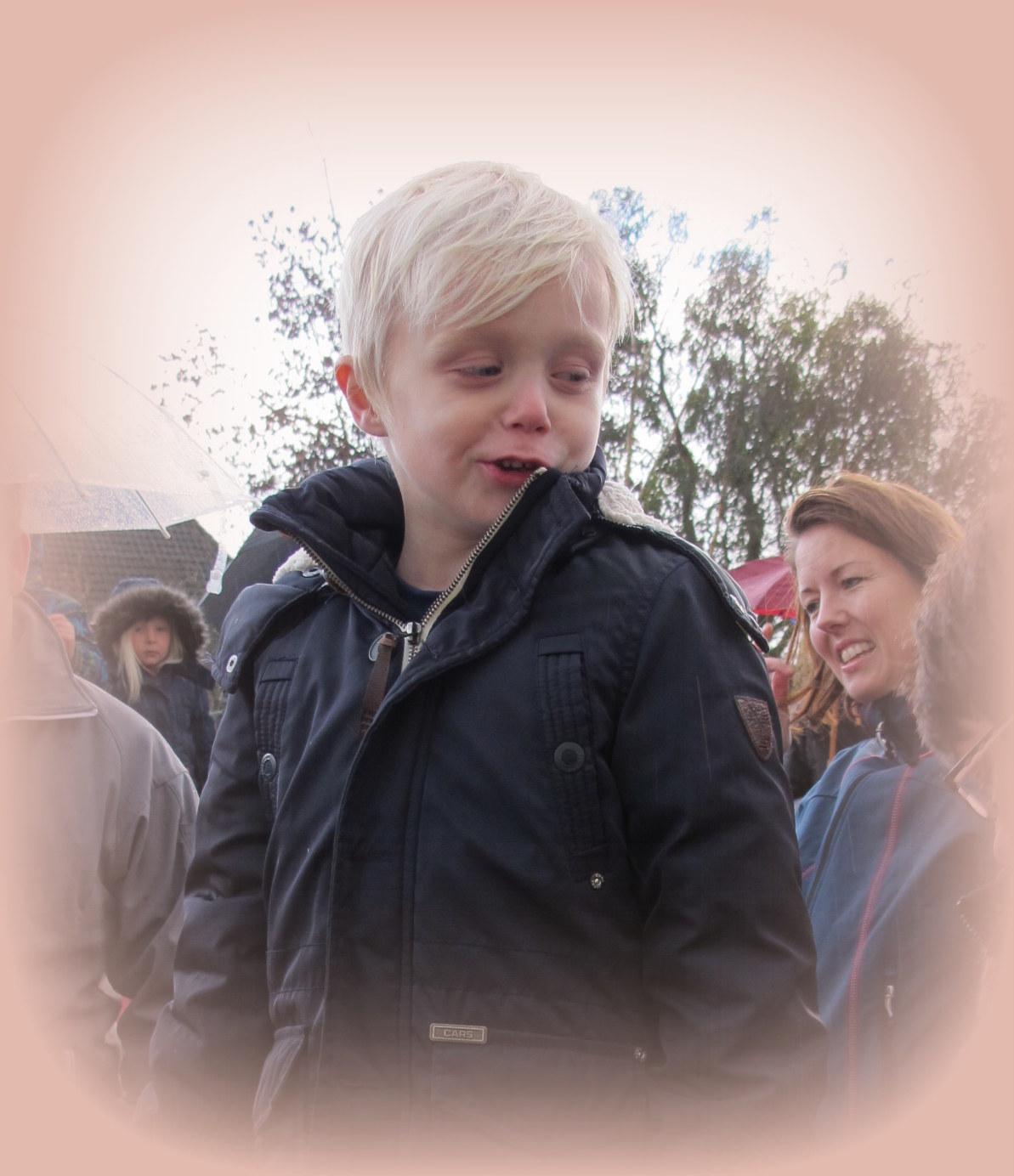 Remco, onze kleinzoon