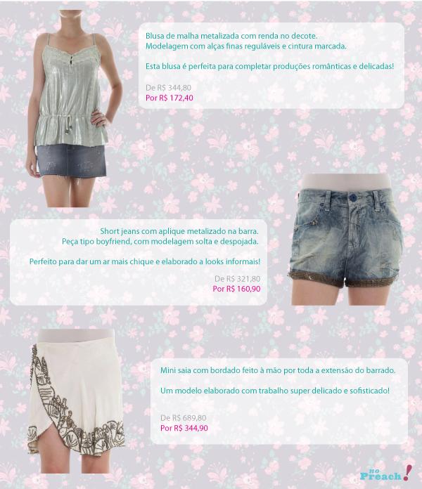 promoção roupas loja caos