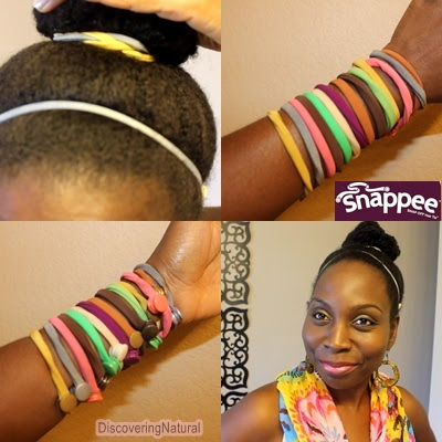 Natural Hair using Snappee
