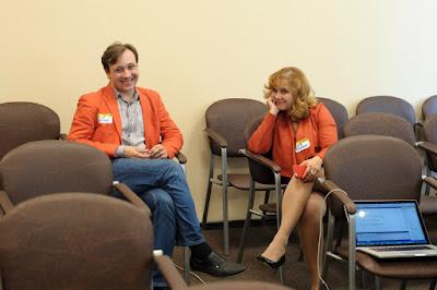 Вот они - позитивные пряничные люди :)) - Алексей и Евгения Любко