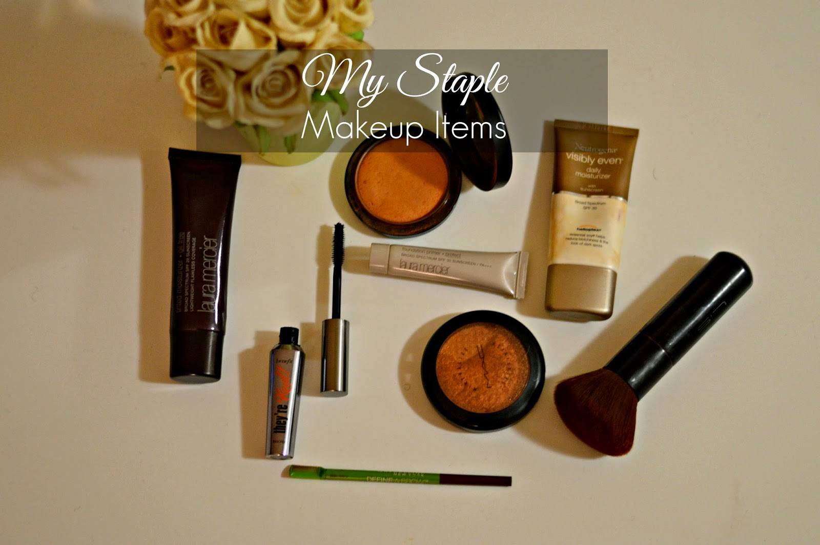 My Staple Makeup Items