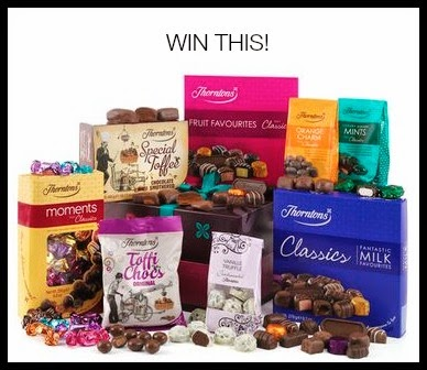Win Thorntons Chocolate Heaven Hamper