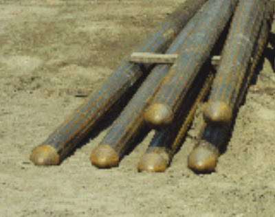  Circularization of top portion of polygon TAPERTUBE pile for pile foundation application