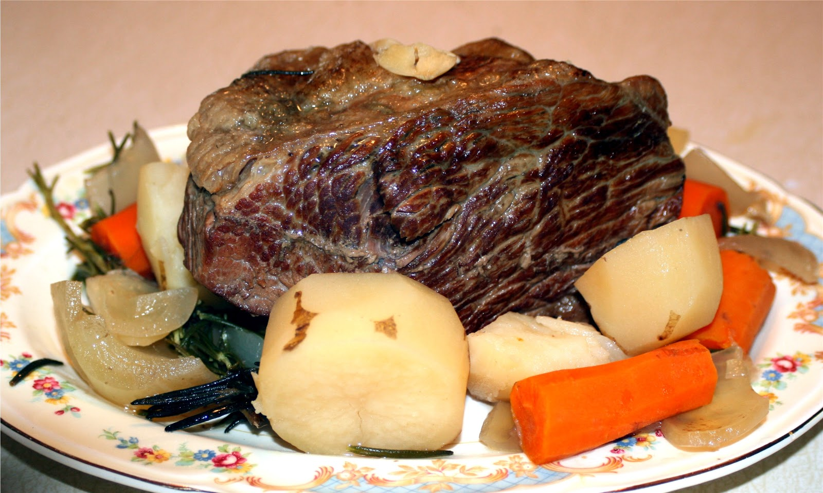 Forsythkid making a rump roast in a slow cooker