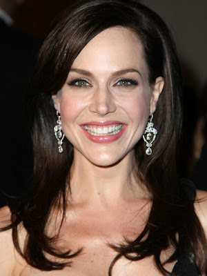 Julie Benz Diamond Chandelier Earrings
