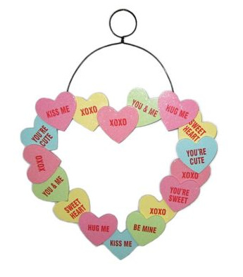 http://www.kohls.com/product/prd-1586333/valentines-day-conversation-hearts-wall-decor.jsp