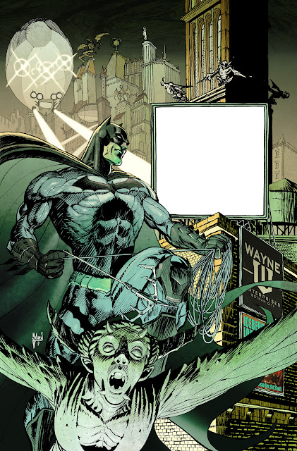 BATMAN ETERNAL #1. Panini Germany Special Cover.