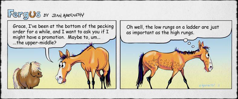 what horse comic