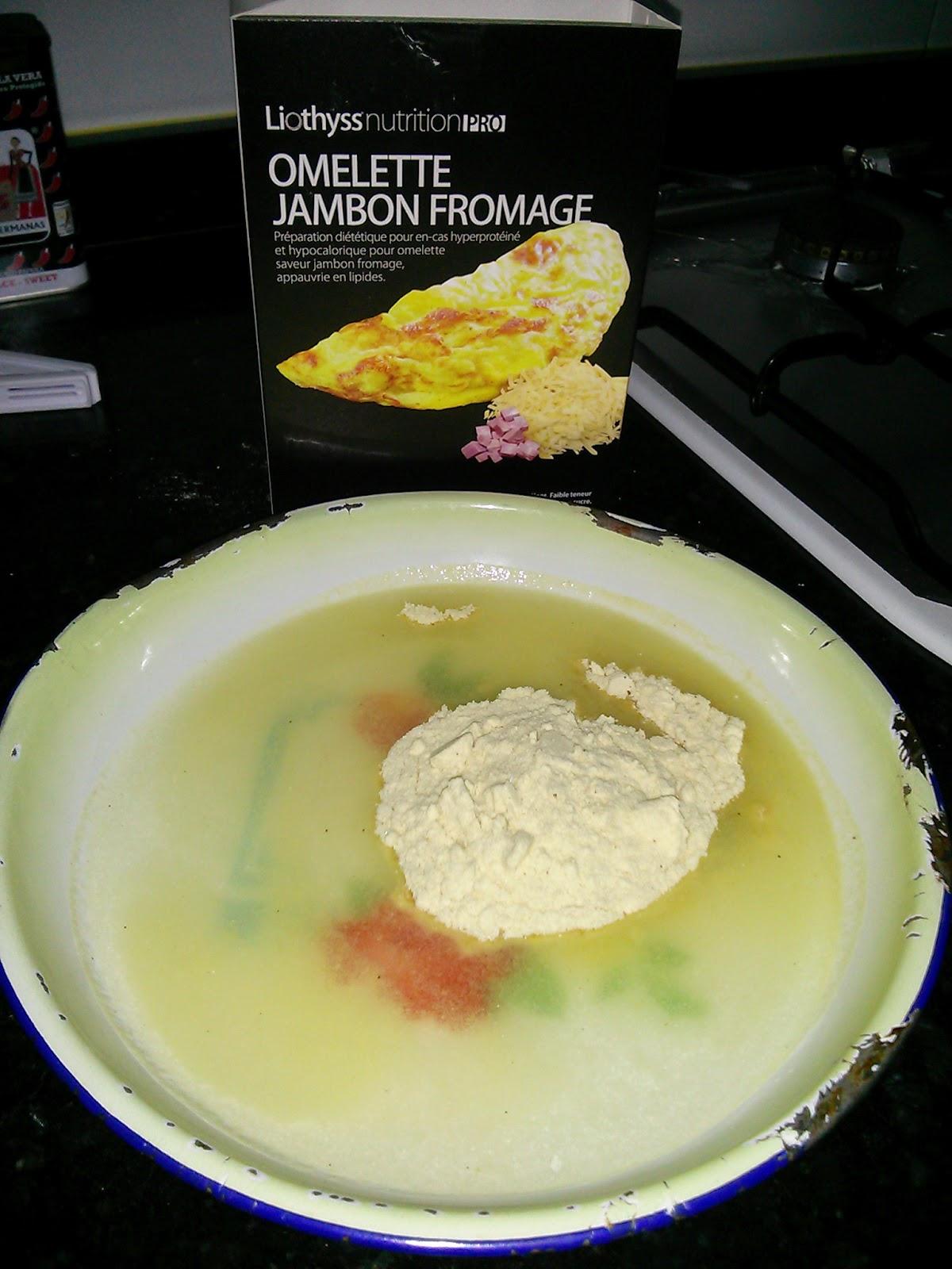 tortilla de jamón y queso