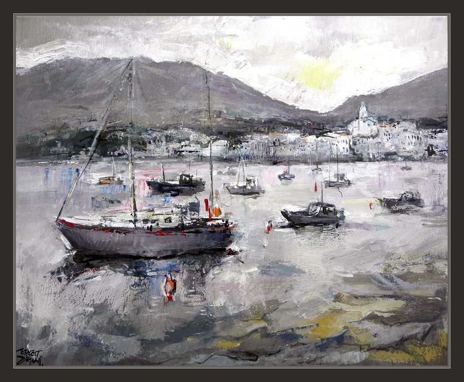 Ernest descals artista pintor cadaques pintura cuadros for Cuadros de marinas