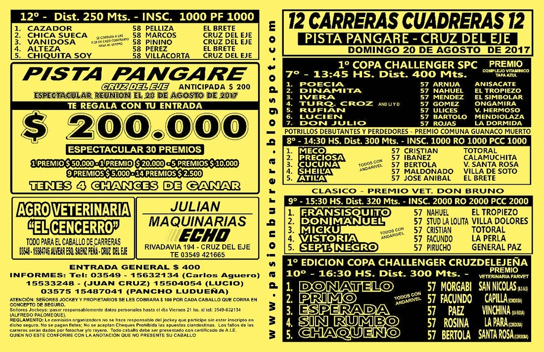 PANGARE 20 - TAPA