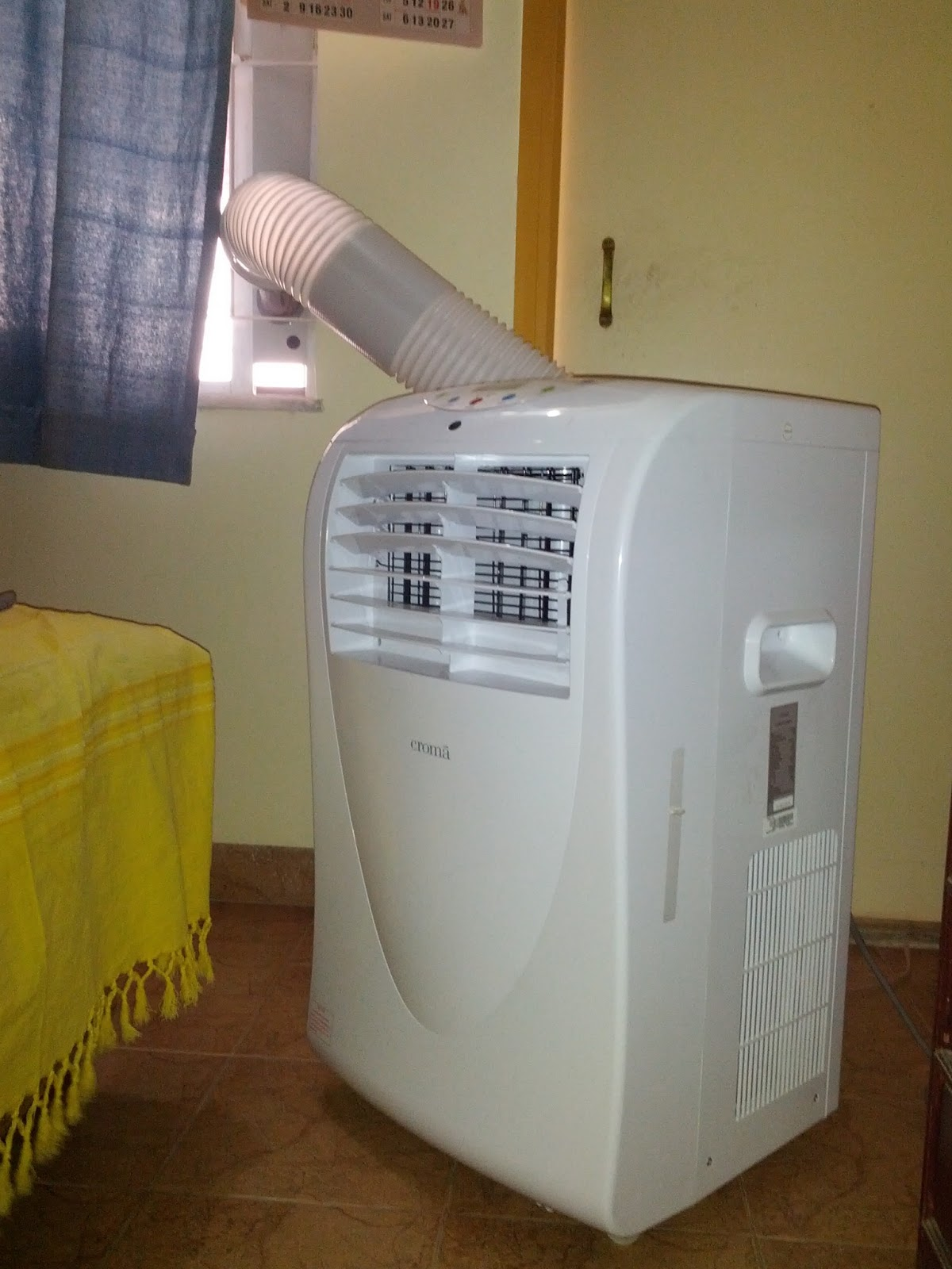 The Geek Afterglow: Croma Portable AirCon a good solution for AC  #61421F