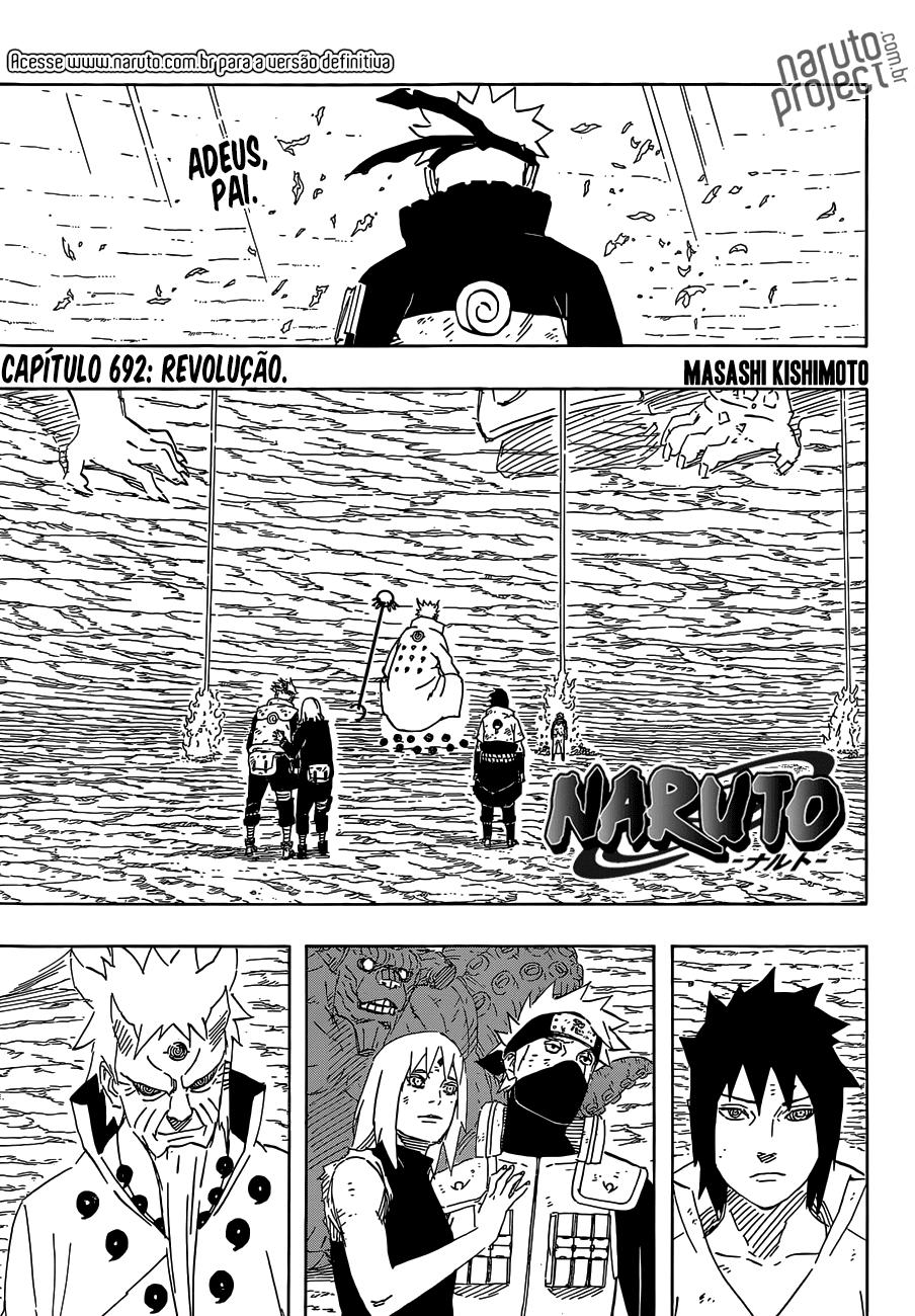 Naruto 692 Português Mangá leitura online