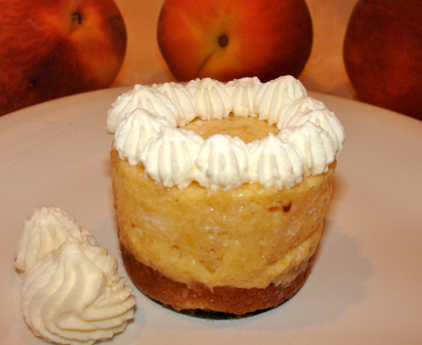 Peach Chamomille Mousse Cakes Recipes — Dishmaps