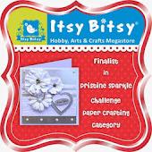 Finalist@ Itsy Bitsy Pristine Sparkle Challenge