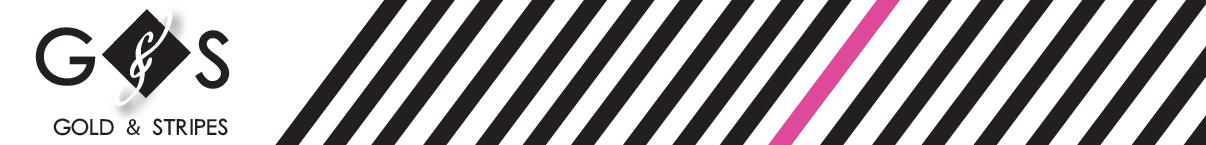 Gold & Stripes