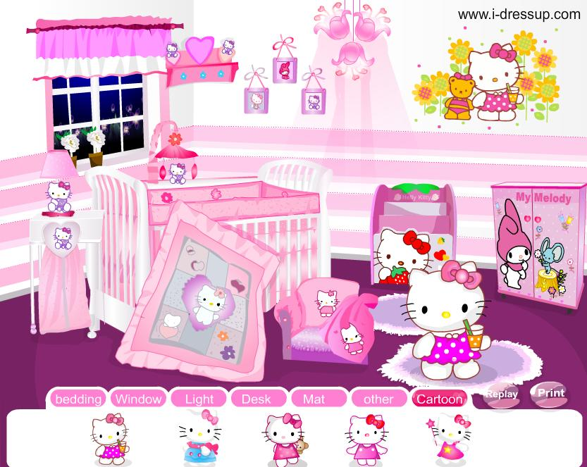 Decoracion Kitty Habitaciones ~ Decora Interiores y mas Habitaciones decoradas con Hello Kitty