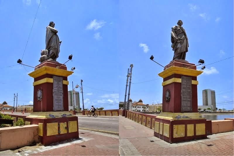 Estátuas da Ponte Maurício de Nassau