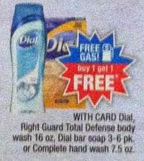 Dial Deal at CVS week of 6 22 part of Gas Card Deal