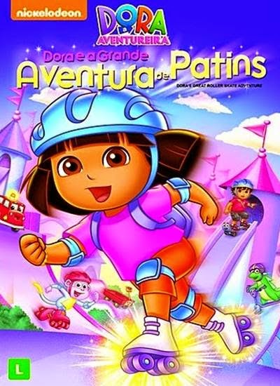 Download Dora e a Grande Aventura de Patins AVI + RMVB Dublado DVDRip Torrent