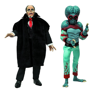 "Diamond Select Universal Monsters 8"" Retro Figures - Phantom of the Opera and Metaluna Mutant"