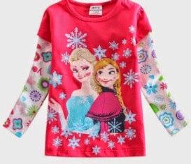 RM25 - Tshirt Frozen Girl