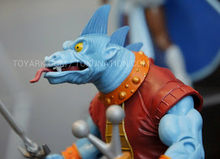 Mattel Matty Collector 2013 Toy Fair Display - Masters of the Universe MOTU Classics Fang Man figure