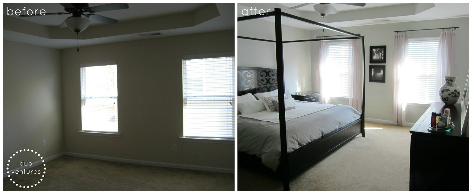 Master Bedroom: Window Panels