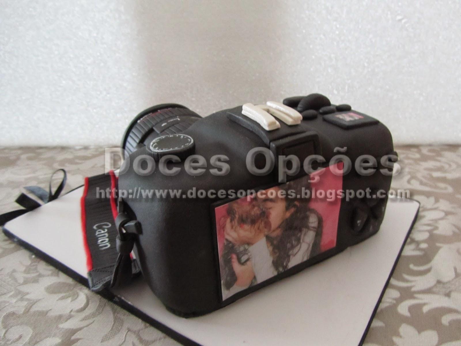 bolo aniversário bragança Máquina fotográfica