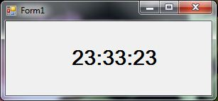 Digital Clock using Timer Make create form on C#